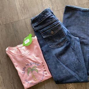 Gap| curvy stretch jeans 6L